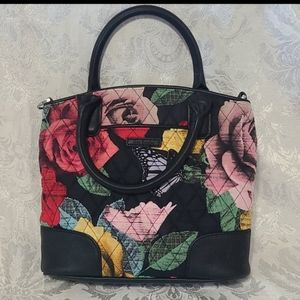 Beautiful Floral & Butterfly Bag